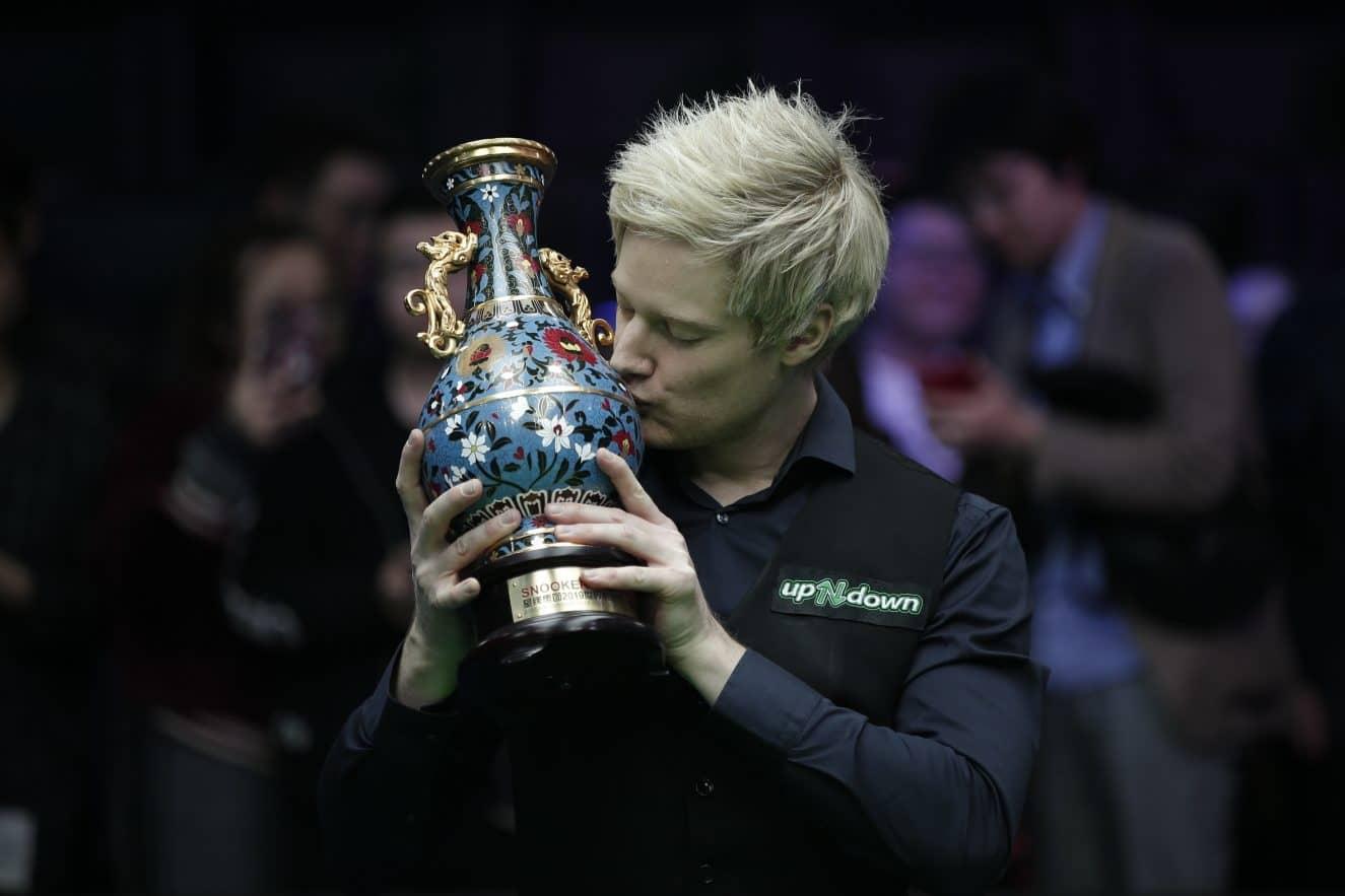 Нил Робертсон, China Open