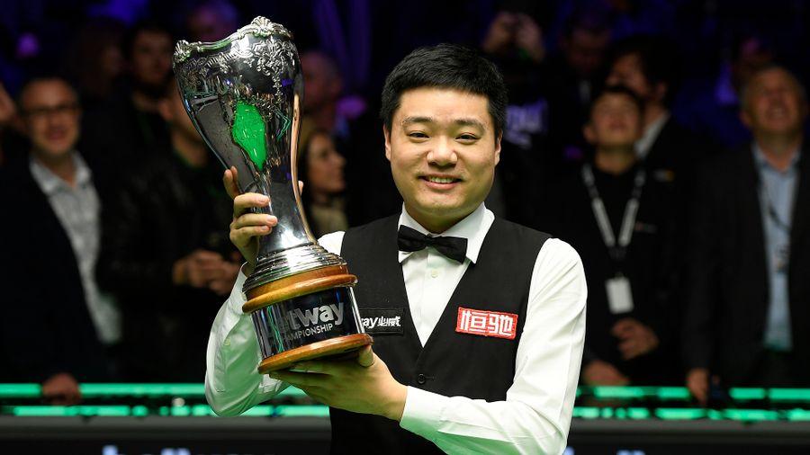 Дин Джуньху, Чемпионат Британии, UK Championship