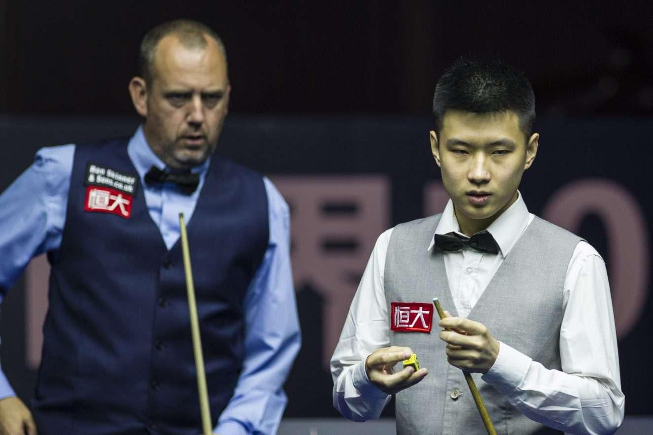 China Championship 2018, Марк Уильямс, Чжао Синьтун