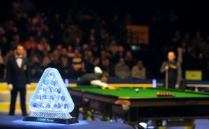 Masters snooker trophy, трофей Мастерс снукер