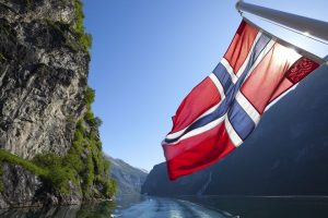 Norway flag, флаг Норвегии