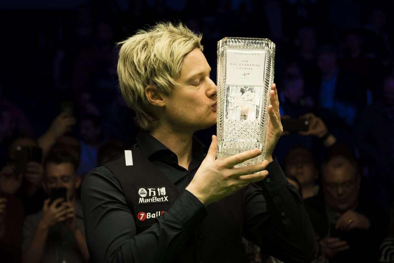 Нил Робертсон, Welsh Open 2019