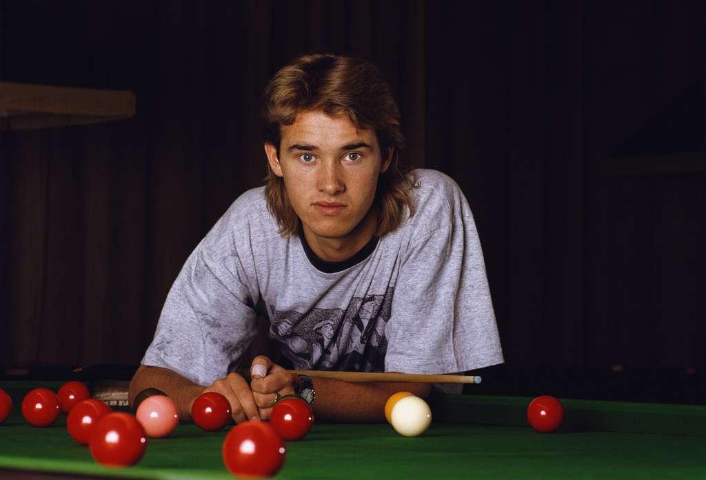 Стивен Хендри, старые фото, 1990